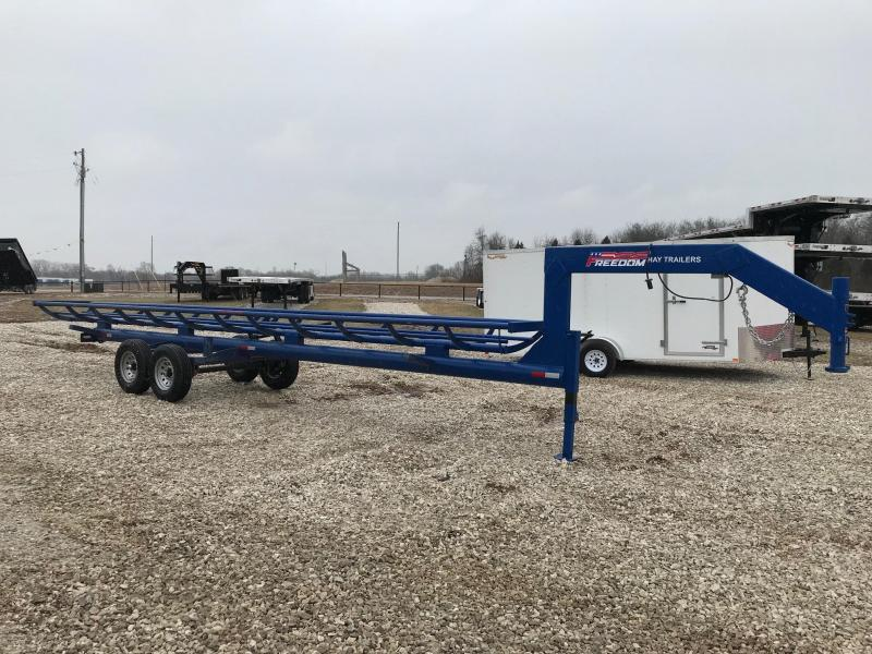 2019 Freedom Trailers 32' SINGLE ROW Dump Trailer