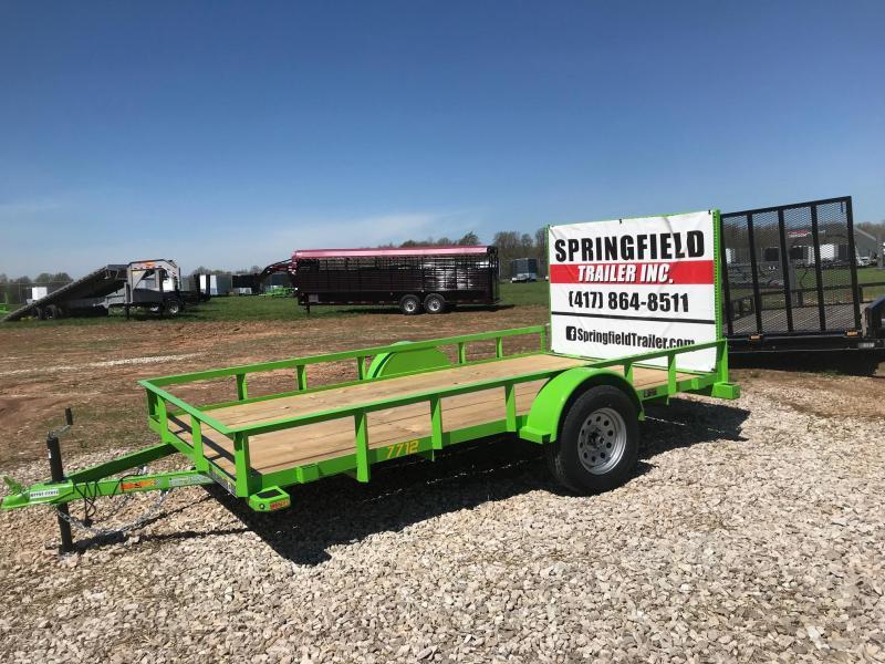 2019 Doolittle Trailer Mfg RS77X123K Utility Trailer in Ashburn, VA