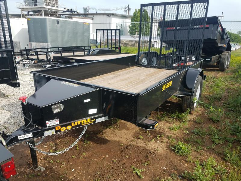 2017Doolittle Trailer Mfg UT66X103 Utility Trailer
