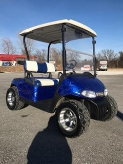2010 E-Z-GO Freedom RXV Custom Golf Cart