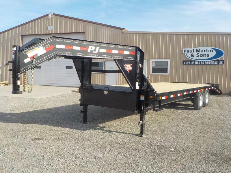 2019 PJ Trailers 25' Classic Flatdeck with Singles Trailer