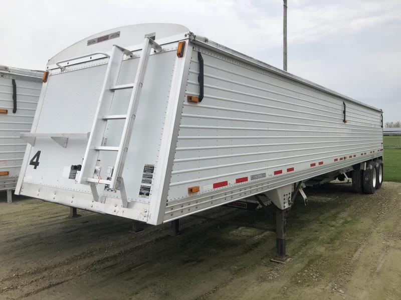 "Used 2010 40'x96""x66"" Timpte Hopper Trailer"