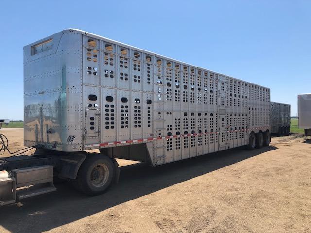 2004 Wilson Trailer Company SILVERSTAR 53 TRI-AXLE SEMI Livestock