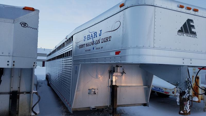 "2006 Elite 36' x 8' x 6'6"" Gooseneck Livestock Trailer  in Ashburn, VA"