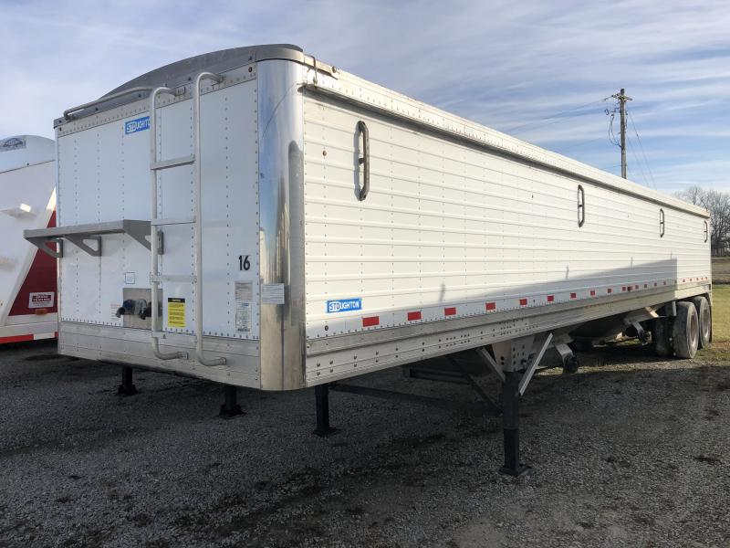 STOUGHTON USED 2009 40' STOUGHTON HOPPER TRAILER  Semi Hopper