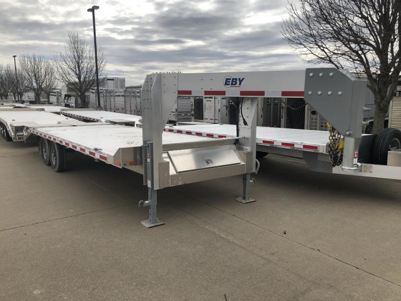 """2019 EBY 24'6"""" x 102"""" Deckover 15.9K GN - 50/50 Ramps in Ashburn, VA"""