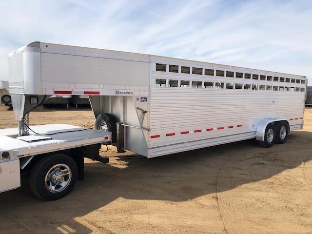 2016 Eby Used 2016 Eby 26' Maverick Gooseneck Livestock Trailer  GN Livestock