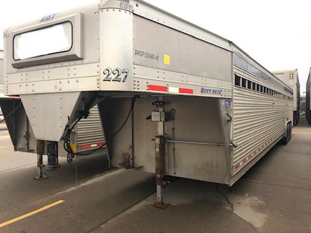 2017 EBY 40'x8' Ruff Neck Gooseneck Livestock Trailer in Ashburn, VA