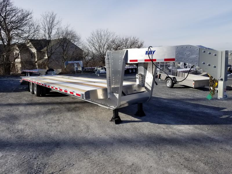 "2019 EBY 30'+5' x102"" Equipment Flatbed Gooseneck Trailer"