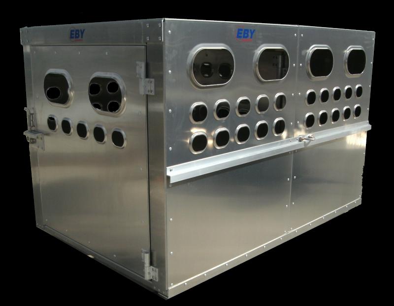 "Eby Livestock Box 6'L x 4'W x 46""H"
