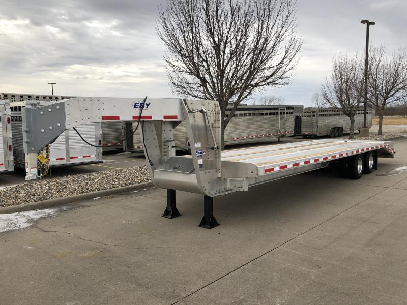 2019 EBY 25'+5' 25K GN Equipment Trailer
