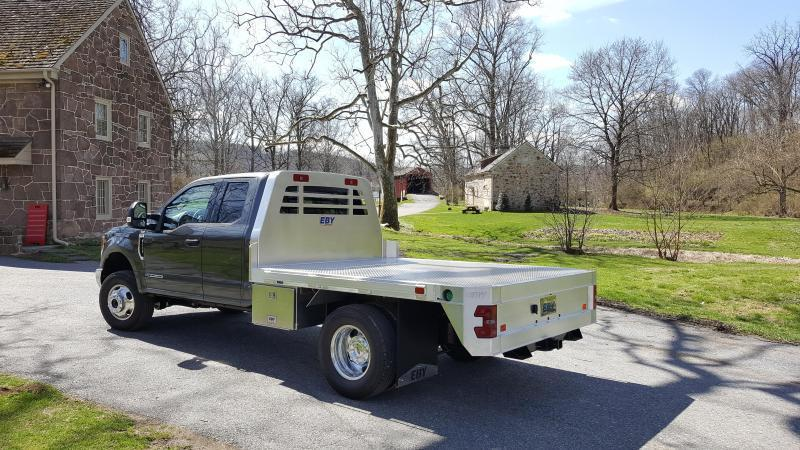 "2019 EBY 9'X97-1/4"" Flatbed Truck Body"