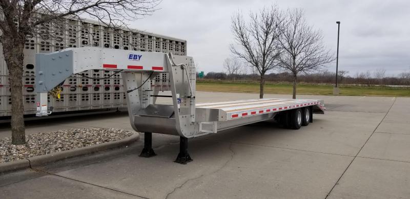 2019 Eby 30'+5' 25K GN Equipment Trailer in Ashburn, VA