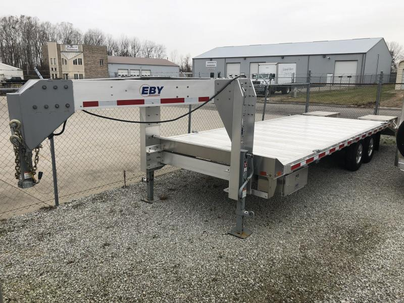 "2018 Eby 24'6"" x 102"" 16K Equipment Gooseneck"