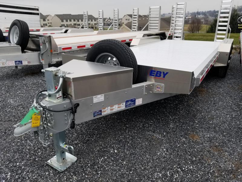 "2019 EBY 20' x 82"" Low-Pro Equipment Bumper Hitch Trailer in Ashburn, VA"
