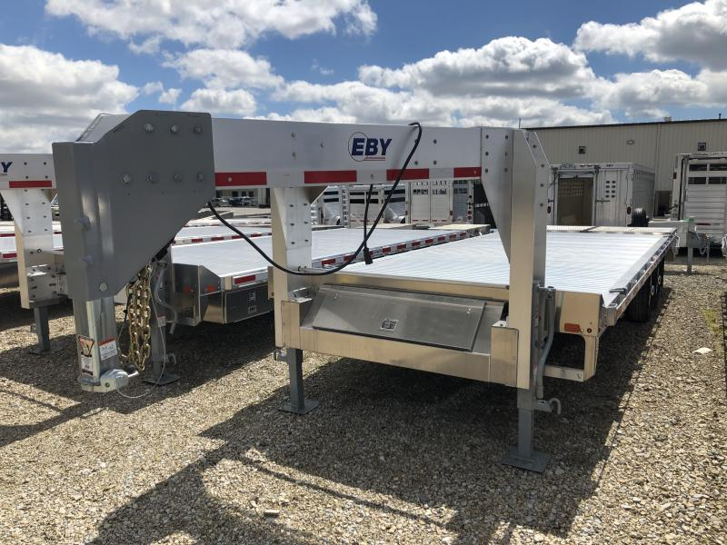 "2019 EBY 24'6""x102"" 16K Flatbed Gooseneck in Ashburn, VA"