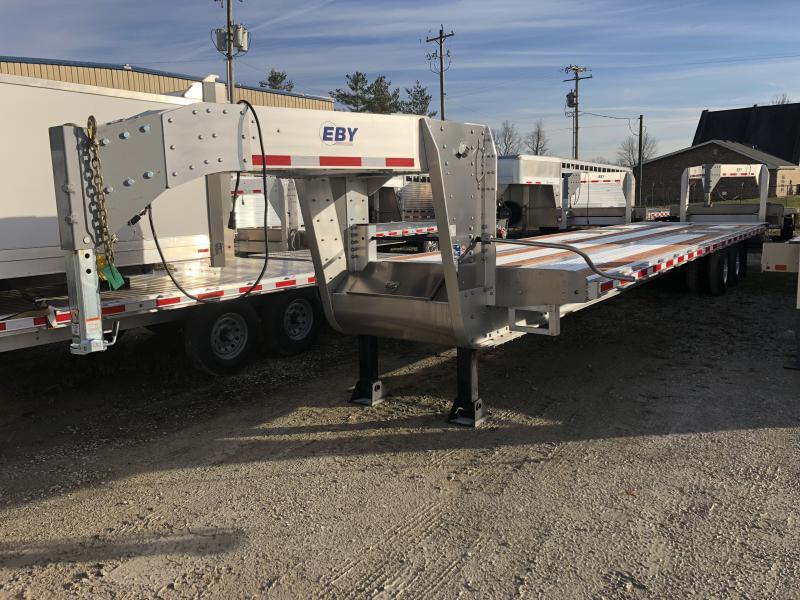 EBY 2018 EBY 30+5 25k equipment trailer  GN Equipment