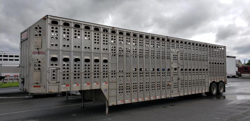 Eby 2003 Eby 50' POT #4A2LD502831009318  Pot Livestock-Semi