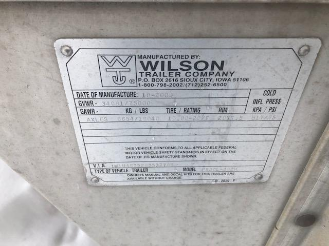 2009 Wilson Used 2009 Wilson 53' Livestock Semi Trailer  Semi Livestock-Semi