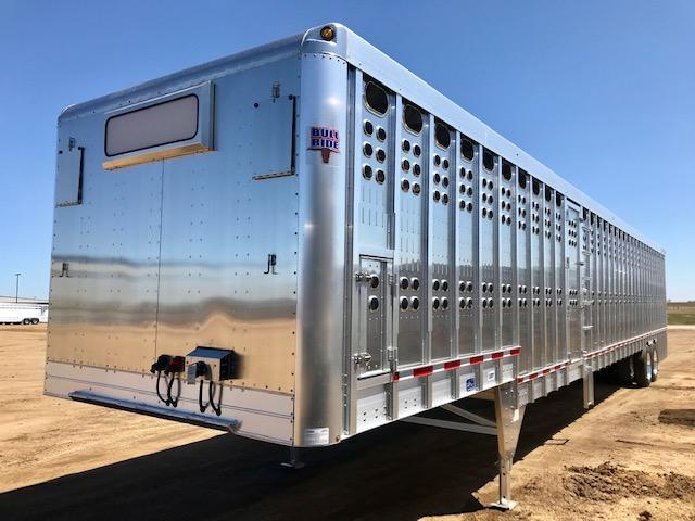 2019 EBY 53' Ground Loader Livestock Semi