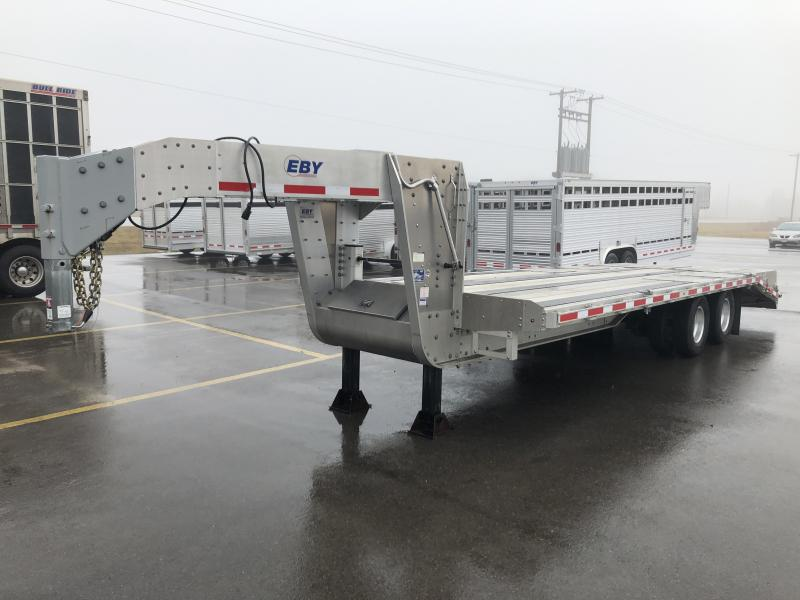 USED 2016 EBY 20'+5' TANDEM DUAL FLATBED GN in Ashburn, VA