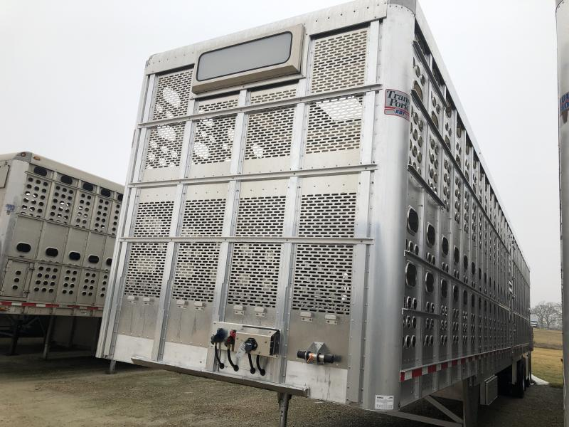 "2020 EBY 53'x102""x13'6"" Transpork Semi Livestock"