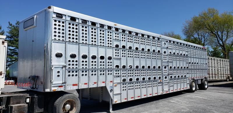 Eby 2008 Eby 53' Spread Axle Pot Ser. #3002422  Pot Livestock-Semi