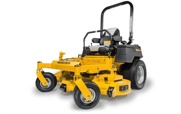 "2018 Hustler Turf Equipment X-ONE 60"" Rear Discharge Kawasaki FX730"