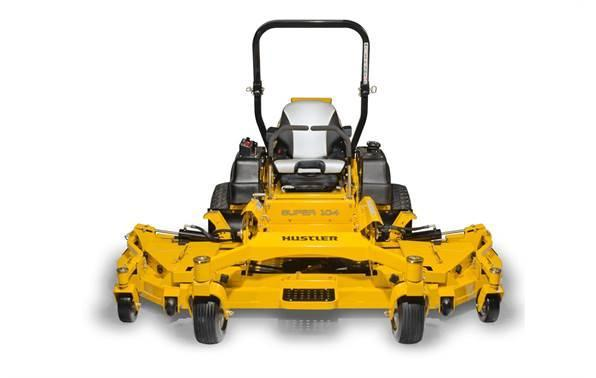"2018 Hustler Turf Equipment Super 104"" Rear Discharge Vanguard Big Block"