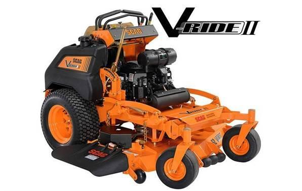 2018 Scag Power Equipment SVRII-61V-25FX