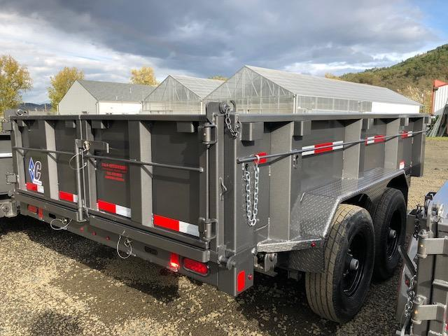 "2018 Diamond C 82""x12 Dump Trailer J1195046"