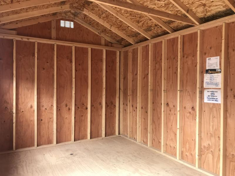 2018 Old Hickory WSUTX 10 X 16 SIDE UTILITY SHED
