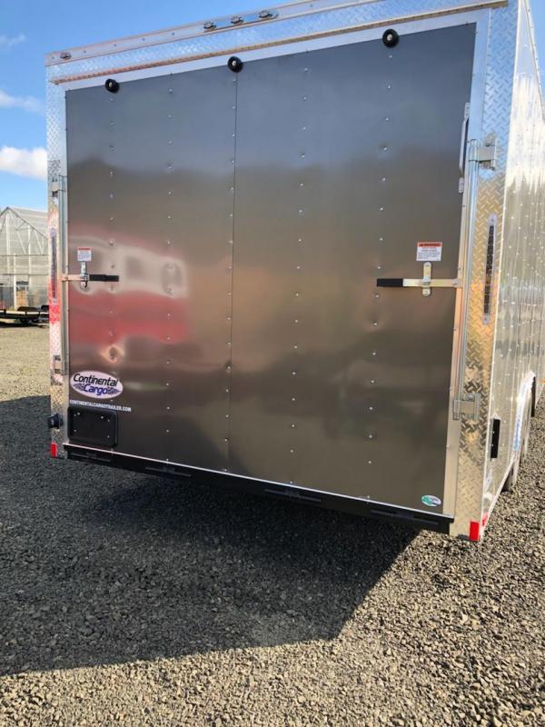 2019 Continental Cargo Car hauler VHW8520TA2  8.5 X 20 Enclosed Cargo Trailer