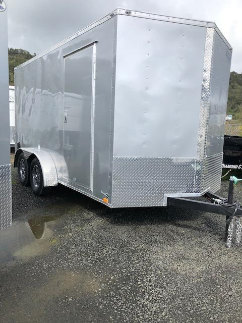 2020 Continental Cargo VHW714TA2 7x14 Enclosed Cargo Trailer #LF717985