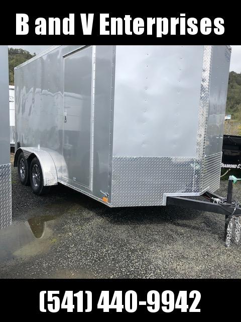 2020 Continental Cargo VHW714TA2 7x14 Enclosed Cargo Trailer #LF717985