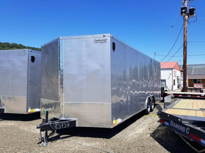 2019 Continental Cargo VHW8524TA3 8.5 X 24 Enclosed Cargo Trailer