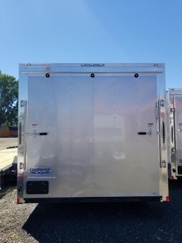 2019 Continental Cargo VHW8524TA3 8.5 X 24 Enclosed Cargo Trailer