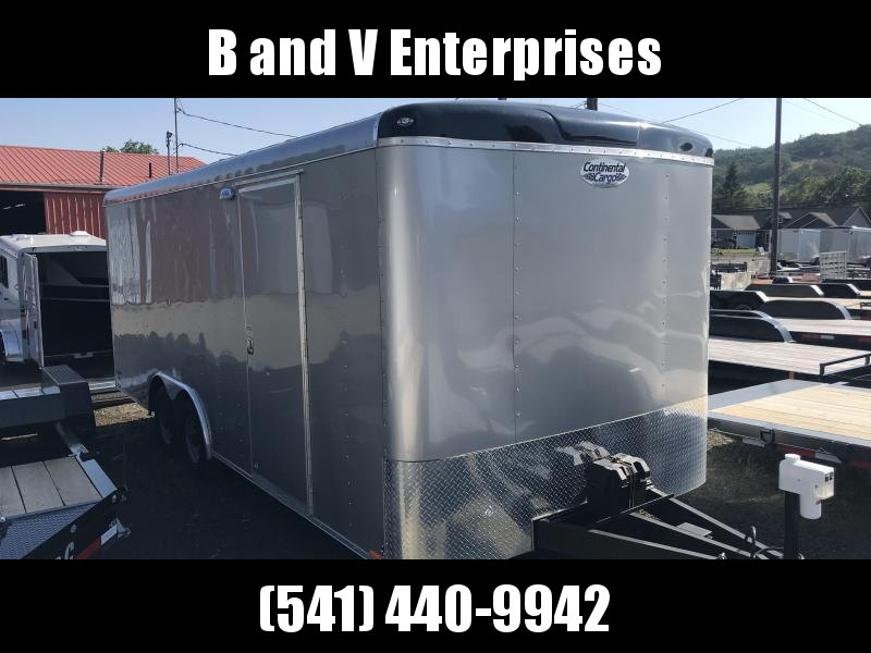 2018 Continental Cargo TW8.5X20 Enclosed Cargo Trailer