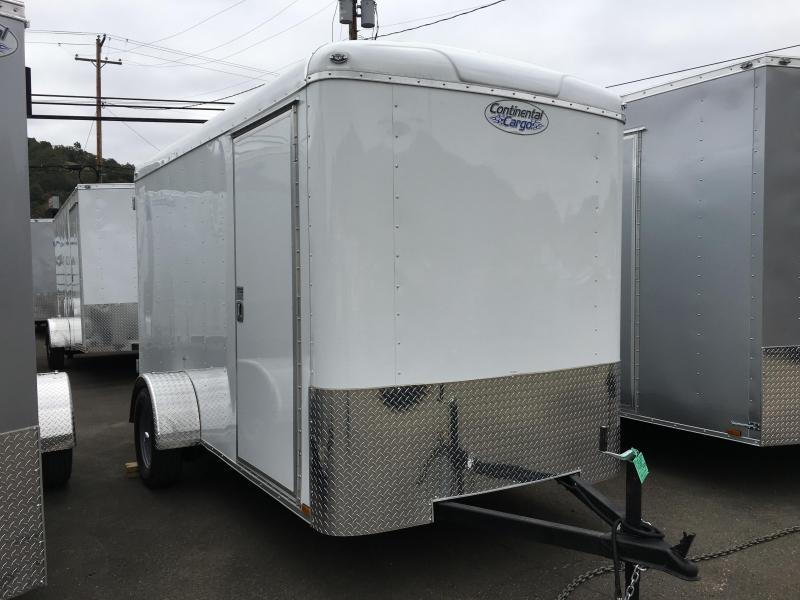 2020 Continental Cargo TW612SA TAILWIND 6X12 Enclosed Cargo Trailer #LF718814