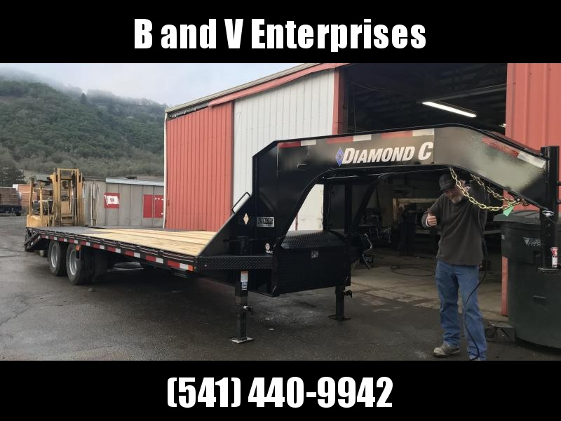 2019 Diamond C 25K TANDEM DUAL FMAX GOOSENECK HD EQUIPMENT TRAILER