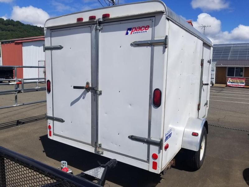 2003 Pace American 6X10SA Enclosed Cargo Trailer