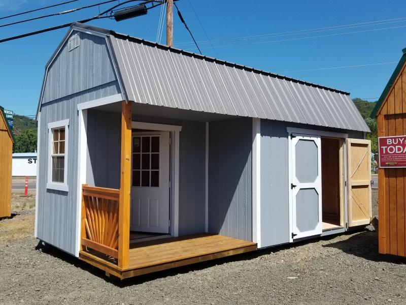 2018 OLD HICKORY SHED LOFTED BARN SIDE PORCH PACKAGE 10X20