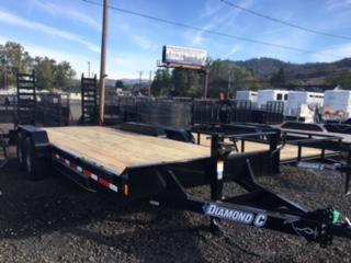 "2018 Diamond C 82""x20 HD Equipment Flatbed Trailer J1194044"
