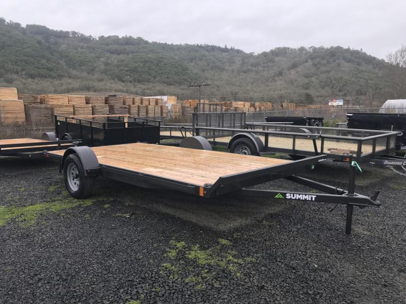 2019 Summit FB612SA-ATV 6X12 ATV Trailer