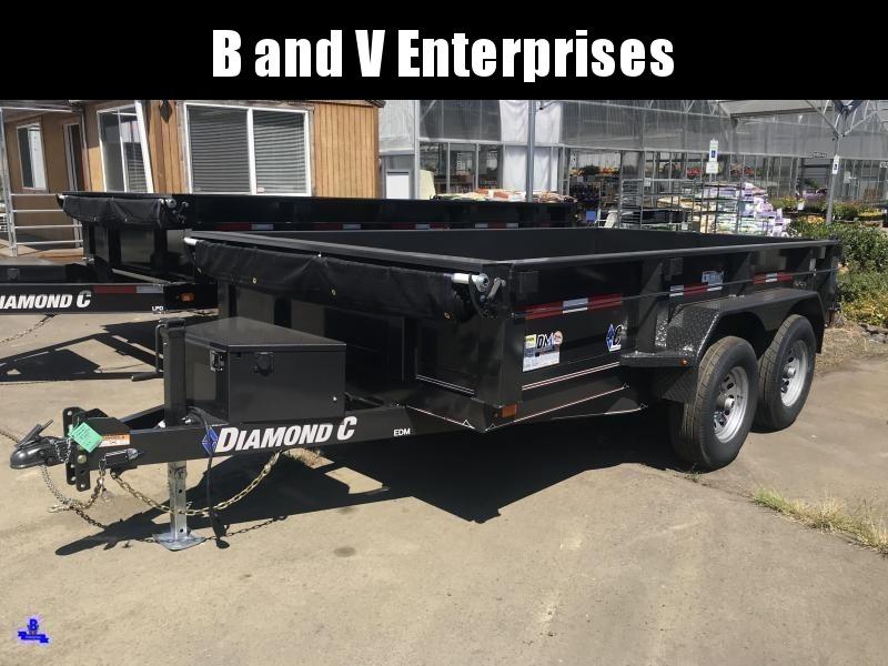 2019 Diamond C Trailers EDG235L 77X10 Dump Trailer #K1217550