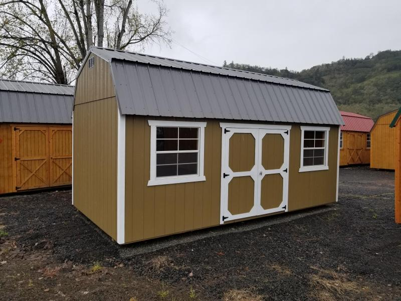2018 Old Hickory Shed 12x20 Side Lofted Barn T3354