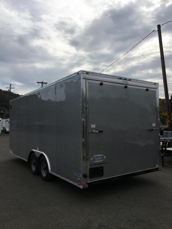 2019 Continental Cargo 8.5X20 TA2 Enclosed Car Hauler Cargo Trailer