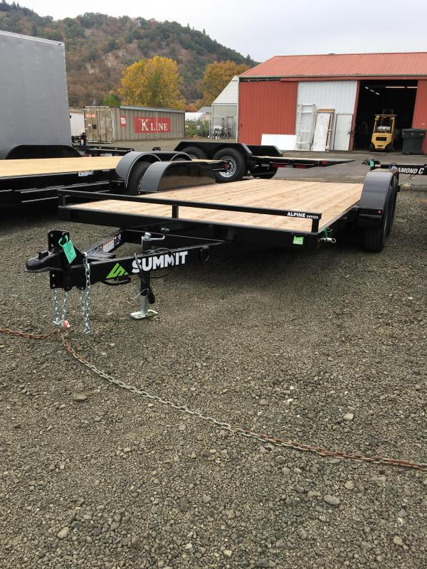 2019 Summit FULL TILT Flatbed Trailer