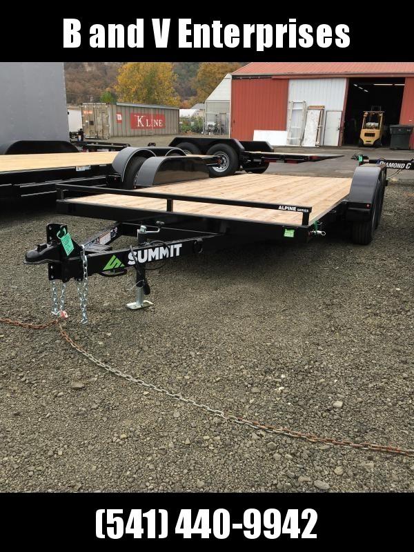 2019 Summit Alpine A716TA2 FULL TILT Flatbed Trailer K1004399
