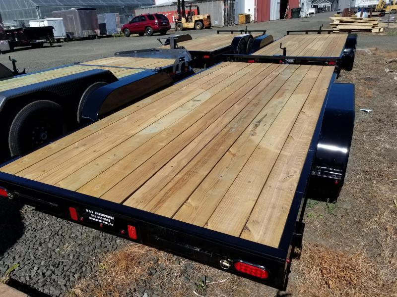 2018 Diamond C Trailers RC83x16 Flatbed Car / Racing Trailer